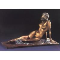 Buy cheap western antique nude woman sculpture/bronze figurine from wholesalers