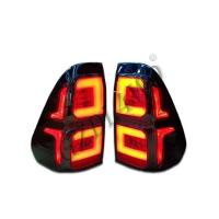 Buy cheap Yellow And Red LED Dynamic Car Tail Lights For Hilux Revo 2015-2016 from wholesalers