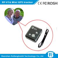 Buy cheap Personal wearable gps tracker chips elderly with free IOS& Android APP software from wholesalers
