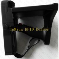 Buy cheap time attendance Above 10meters long range uhf rfid handheld reader with handheld software from wholesalers