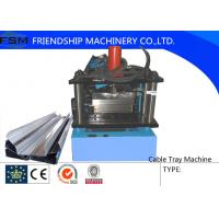 Buy cheap 200mm - 950mm Cable Tray Cable Ladder Forming Machine With PLC Control System from wholesalers
