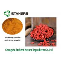 Buy cheap Wolfberry Vegetable Extract Powder , Goji Berry Extract50% Polysaccharide from wholesalers