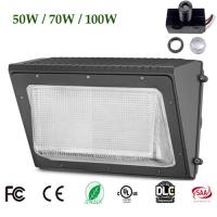 Buy cheap Glass LED Wall Pack Lights 5000K UL DLC 4.2 AC 120 -277V WSD-GWP05W27 Weled Power Driver from wholesalers