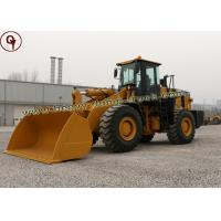 Buy cheap SEM 5 Ton 6 Ton Heavy Construction Equipment Front Wheel Loader With 3 Cbm Bucket from wholesalers