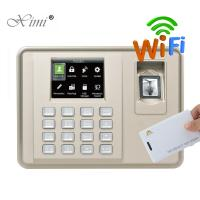 Buy cheap ZKteco Silk ID WIFI Fingerprint Time Attendance Biometric Fingerprint Employee Attendance Machine from wholesalers