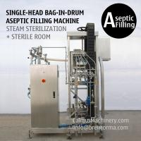 Buy cheap 200 Litre Bag in Box Aseptic Filler 220 kg Bag in Drum Aseptic Filling Machine from wholesalers