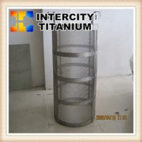 Buy cheap Titanium Anode Baskets for Electroplating with Platinum Coating from wholesalers