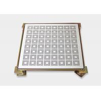 Buy cheap Anti Static Raised Floor Perforated Tiles with Honeycomb Briquet Shape from wholesalers