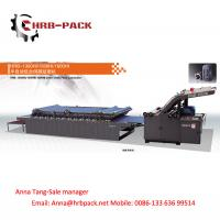 Buy cheap HRB-HI vacuum servo semi-automatic flute laminator from wholesalers