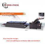 Buy cheap HRB-HI vacuum servo semi-automatic flute laminator from wholesalers