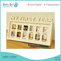 Buy cheap Compact Size Baby First 12 Months Photo Frame With Soft And Non Toxic Material from wholesalers
