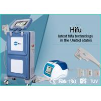 Buy cheap Vertical Portable HIFU Machine High Intensity Focused Ultrasound For Face Lifting from wholesalers