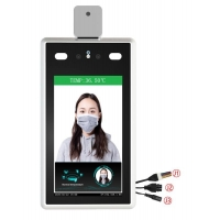 """Buy cheap 7"""" IPS CMOS Binocular Face Recognition Thermometer product"""
