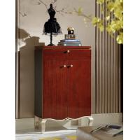 Buy cheap Villa house Furniture Shoecase with drawers Ebony wood shoe cabinets for Hall furniture from China factory from wholesalers