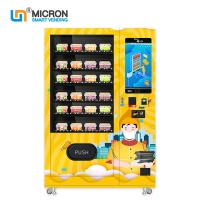 Buy cheap MDB Fruit Vending Machine 3-20°C Adjustable Temperature from wholesalers
