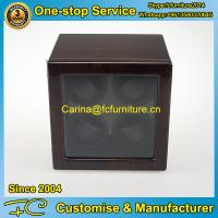 Buy cheap Watch winder with MDF in ebony high gross finish 4 rotors 4 motors for 4 watches from wholesalers