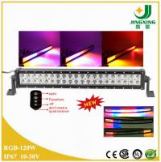 Buy cheap 2015 new colorful led light bar, 120w RGB led flashing light bar from wholesalers