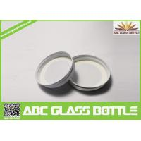 Buy cheap Aluminum lid for cosmetic jar, complete aluminum screw lid for bottle, aluminum from wholesalers