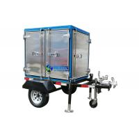 Buy cheap Single Axle 2 Car Wheels Type Trailer Mounted Insulating Oil Filtraiton Machine 3000LPH from wholesalers