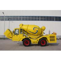 Buy cheap Self feeding and Transit mobile concrete mixer truck from wholesalers