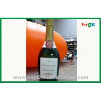 Buy cheap Outdoor Advertising Inflatable Wine Bottle For Sale from wholesalers