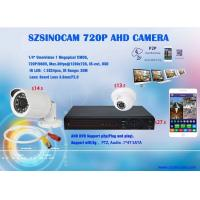 Buy cheap 720P HD AHD OV9712 + NVP2431H Analog CCTV Camera with AHD Digital Video Recorder from wholesalers