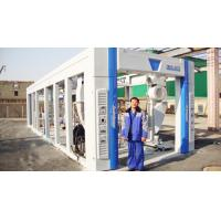 Buy cheap Blue Brush Tunnel Car Washing Equipment For Washing 60 - 80 Vehicles Per Hour from wholesalers
