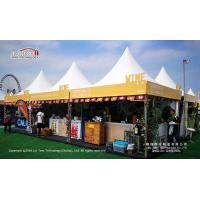 Buy cheap Transparent event tent with glass walls and glass doors from wholesalers