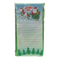 Buy cheap Christmas Custom Printed Notebooks Rectangle Shape Listpad 80gsm Inner Paper from wholesalers