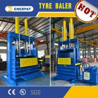 Buy cheap Hydraulic scrap tire baler machine/used tire baler for sale with CE from wholesalers