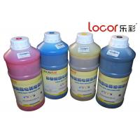 Buy cheap Drying Fast Inkjet Printer Ink , Solvent Ink Cartridges Good Adhesion 4 Colors from wholesalers