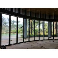 Buy cheap Movable Frameless Glass Wall , Suspended Frameless Sliding Doors 12mm Thickness from wholesalers