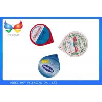 Buy cheap Laminated Printed Aluminum Foil Seals Lids For PP Water Cup And Yogurt from wholesalers