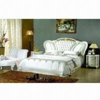 Buy cheap Classic Real Leather Bed, Made of Polyurethane from wholesalers
