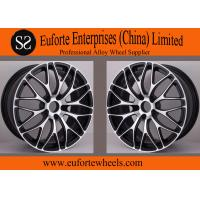 Buy cheap Black Machine Face Forged Custom Wheels product