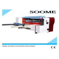 Buy cheap Continuous Rotary Creasing And Die Cutting Machine Hot Stamping Customized Color from wholesalers