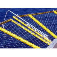 Buy cheap Corrosion Resistance Helideck Safety Net 316 Grade Stainless Steel Wire For Protect from wholesalers