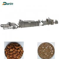 Buy cheap Twin Screw Extruder Pet Food Production Line , Pet Food Processing Line from wholesalers