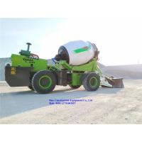 Buy cheap SCEC Concrete Handling Equipment 4m3 Self Loading Concrete Mixer Truck Machine from wholesalers