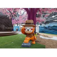 Buy cheap OEM / ODM Shopping Centre Decorations Advertising Fiberglass Cartoon Statue Funny from wholesalers