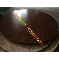 Buy cheap PU dining hall OAK table top from wholesalers