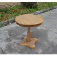 Buy cheap Classic French Style Furniture Oak Wood Base Round Coffee Table from wholesalers