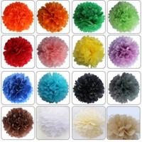 Buy cheap Hot sale Tissue Paper Pom Pom/Colorful Paper flower from wholesalers