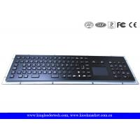 Buy cheap IP65 Rated Black Metal Keyboard With Touch Pad,Function Keys And Number Keypad from wholesalers