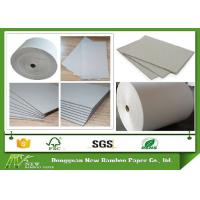 Buy cheap 300gsm - 650gsm Roll Of Gray Paper Cardboard Roll For Waste Paper Reuse from wholesalers
