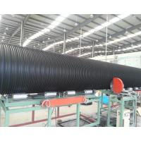 Buy cheap Large diameter high stiffness HDPE PE steel reinforced winding pipe machine extrusion line production for sale from wholesalers