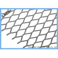 Buy cheap DIN EN ISO 1461 Expanded Metal Mesh , Aluminum Expanded Metal Sheet For Stairs from wholesalers