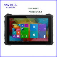 Buy cheap Industrial Smartphone10Inch Intel Tablet Android5.1 z8350 Windows10 OS with fingerprint, barcode scanner rfid nfc from wholesalers