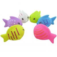 Buy cheap Mini Fish Shaped Plastic Baby Toys / Animals Swimming Toys for Toddler Bathing from wholesalers
