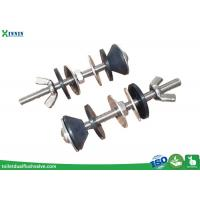 Buy cheap Solid Stainless Steel Toilet Bolts / WC Bolt For 2 Pieces Toilet , Long Endurance from wholesalers